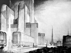 Hugh Ferriss, Lee Lawrie, Centerbrook Architects
