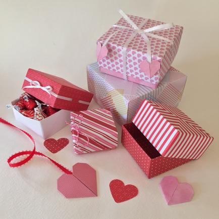 valentines day origami box workshops