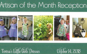 Teresa Is Our Artisan Of The Month For October Creator Adorable Teresas Little Girls Dresses These Are Reversible
